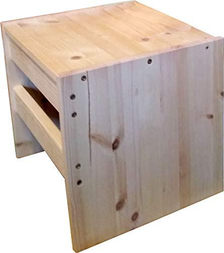 Funktionales Hocker Tischchen für Baby und Kleinkind - ideale Ergänzung zum Wendehocker
