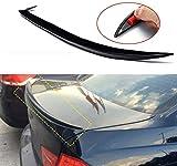 XYJCY Black Saloon Boot Rear Lip Spoiler Spoiler Ala Ala M3 Stile per BMW Serie 3 E90 4 Porta 2005-12 Spoiler Posteriore Spoiler Tronco Labbro