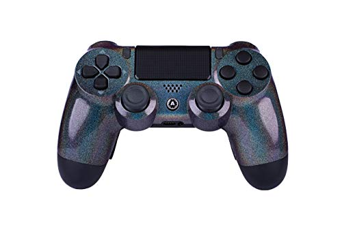 AimControllers PS4 Custom Wireless Controller, PlayStation 4 Personalisierter Controller Diamond mit 4 Paddeln, Gaming Joystick, Dualshock, Gamepad [GAMING]