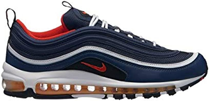 Nike AIR Max 97 / Bleu Marine : Amazon.fr: Chaussures et Sacs