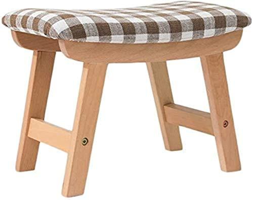 Reposapiés de madera tapizada Leg4 Leg4 Leg25,5 x 38,5 x 29 cm (color: 4), color: 6 3