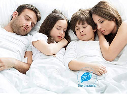 Eupaja Matratzenbezug zur Urinisolierung für Kinder, Rutschfester Bezug Babybett Atmungsaktiv, Anti-Allergisch gegen Milben und Schimmel - Matratzenbezug mit neuartiger Behandlung: (80×200cm)