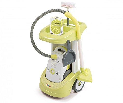 Smoby 7600024406 - Reinigungs Trolley, Rowenta, Aspi Clean