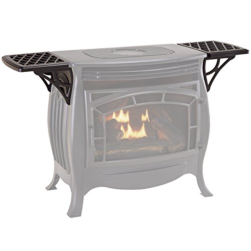 Duluth Forge FDSR25SG Shelves for Vent less Gas Stove Black, Small