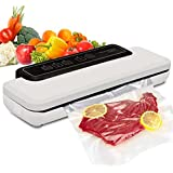 自動真空シーラー、乾燥食品および湿潤食品用食品シーラー機 生鮮保存 肉、野菜、果物のワンタッチシール