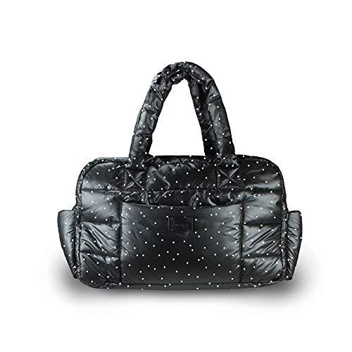 7AM Voyage Baby Wickeltasche - Soho Handtasche groß und lässig als Wickeltasche für Baby und Kleinkind mit Kinderwagen Zubehör zur Befestigung
