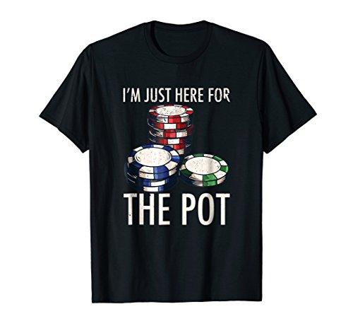 Poker T-Shirt Texas Hold'em Gambling Pot Cards Player Gift