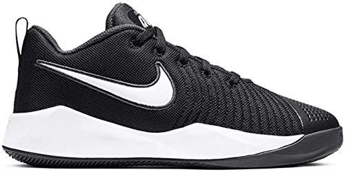 Nike Team Hustle Quick 2 (GS), Sneaker, Black/White-Anthracite-Volt, 38.5 EU