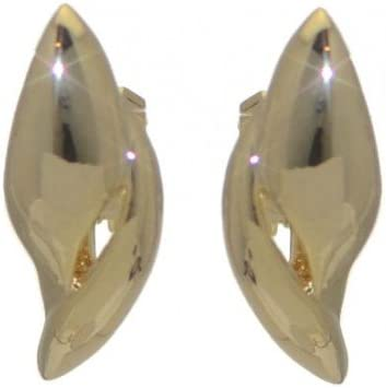 TALIDA Gold Plated Clip On Earrings by Rodney