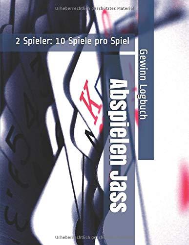 Abspielen Jass - 2 Spieler: 10 Spiele pro Spiel - Gewinn Logbuch