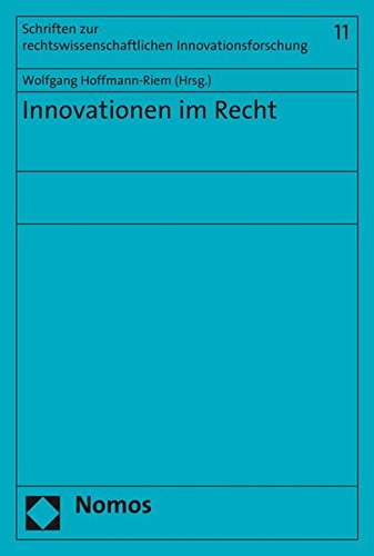 Innovationen Im Recht