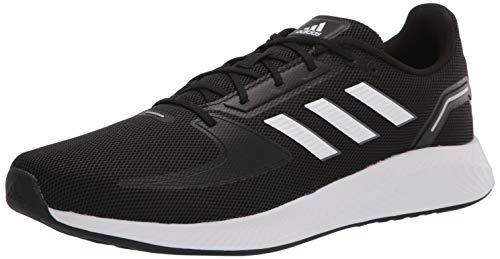 adidas Herren Runfalcon 2.0 Laufschuh, Schwarz (schwarz / weiß / grau), 40.5 thumbnail