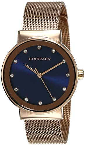 Giordano Analog Blue Dial Women's Watch - A2047-44