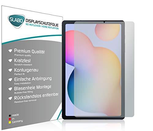 Slabo 2 x Bildschirmschutzfolie für Samsung Galaxy Tab S6 Lite Bildschirmschutz Schutzfolie Folie No Reflexion | Keine Reflektion MATT