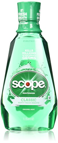 Scope Mouthwash Original Mint 33.8 Oz (2 Pack)