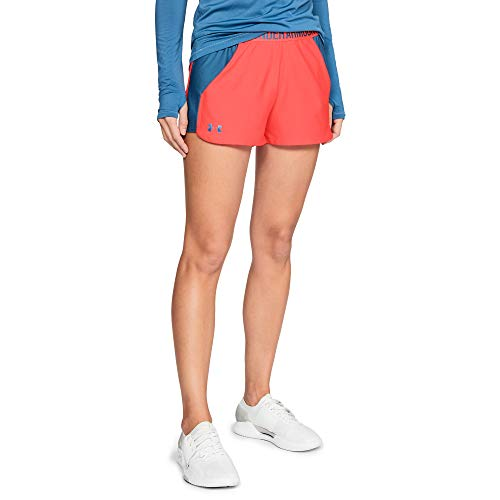 Under Armour Play Up Short Femme, ORANGE, TAILLE L
