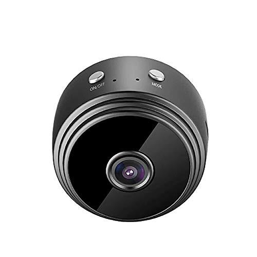 ZTTTD Cámara espía oculta, mini cámara wifi Cámara de vigilancia de red IP 1080P HD Cámara de niñera inalámbrica con detección de movimiento de visión nocturna, grabadora de video portátil Cámara de s
