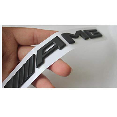 miling Black for S63 Fit V8 BITURBO 4MATIC+ Trunk Fender Badge Emblems