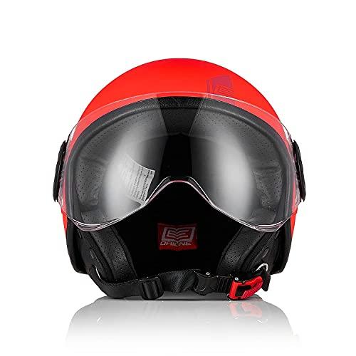 ORIGINE Casco Moto Open Face Street 3/4 Half Jet