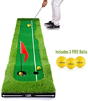 Abco Tech Golf Putting Green Mat for Practicing and Training