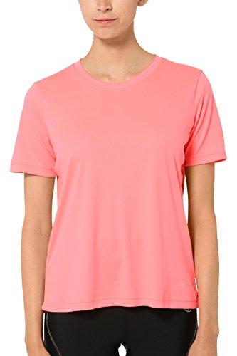 Ultrasport Endurance Albury Camiseta Oversize, Mujer, Rosa, 36