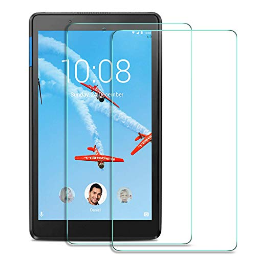 SHEEL GROW ™ Tempered Glass Screen Protector Guard (Front) with 100% Optical Resolution, Hammerproof Scratch Resistant for Lenovo Tab M8 Tablet (Trink Glass) Comes with Installation kit.(Pack of 1)