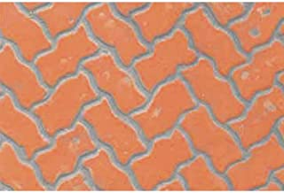 JTT Scenery Products Plastic Pattern Sheets: Interlocking Paving, 3mm