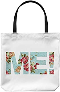 Me Flowers Swifty Vintage Personalized Handmade Music Big Gift Fan Tote Bag