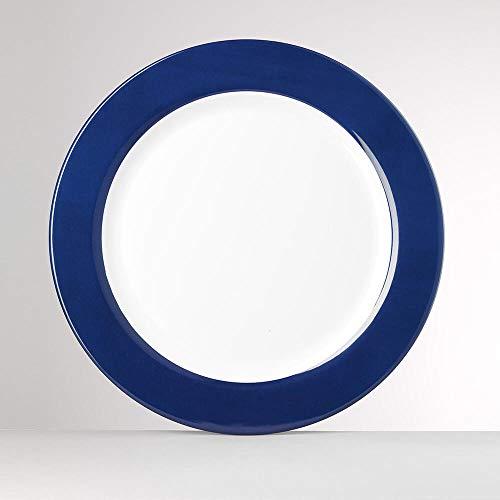 Mario Luca Giusti Corallo Plateau diam. 40cm Bleue