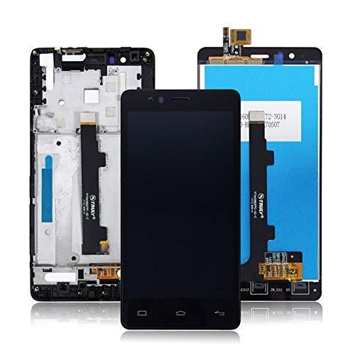 ZUAN LCD + Tactil de la Pantalla táctil Compatible con BQ Aquaris E5 4G 0982 TFT5K0982FPC-A2-E Fast (Color : LCD with Frame)
