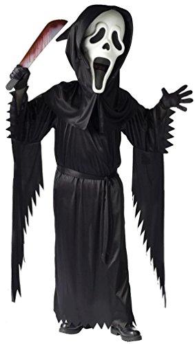 Fun World Boys' Bobble Head Ghost Face Costume Large