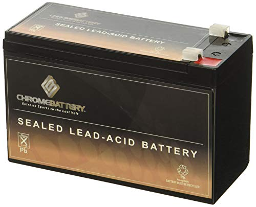 12V 7AH Lead Acid Battery By Chrome Battery