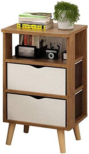 File cabinets Nachttisch Nachttisch Haushalt Montage Bodenstehend Aufbewahrungsbox Doppelpumpe Arbeitszimmer Spindschrank Schlafzimmer Wohnzimmer Korridor Beistelltisch (Farbe: Kirschholz)