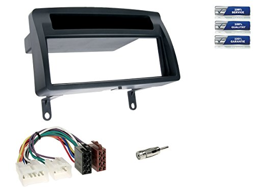 NIQ Autoradio Einbauset/Komplettset geeignet für Toyota Corolla (Typ E12)