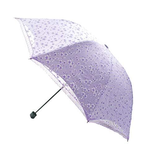 Paraguas automático Viaje Protección Solar portátil