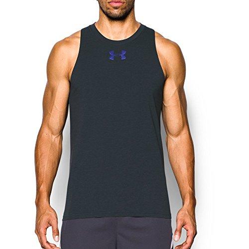 Musculosa con refuerzo bajo el brazo para hombre - 1293825, Antracita