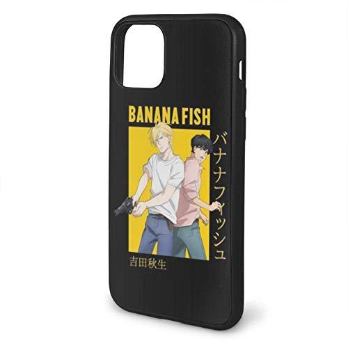 Kompatibel mit iPhone 12/12 Pro Max 12 Mini 11 Pro Max SE X XS Max XR 8 7 6 6s Plus Hülle Banana Fish Ash Lynx Eiji Okumura Card Protection Antichoc Black Handyhülle Cover