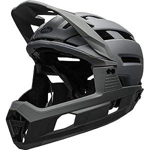 BELL Super Air R MIPS Adult Mountain Bike Helmet - Matte/Gloss Grays (2021), Medium (55-59 cm)