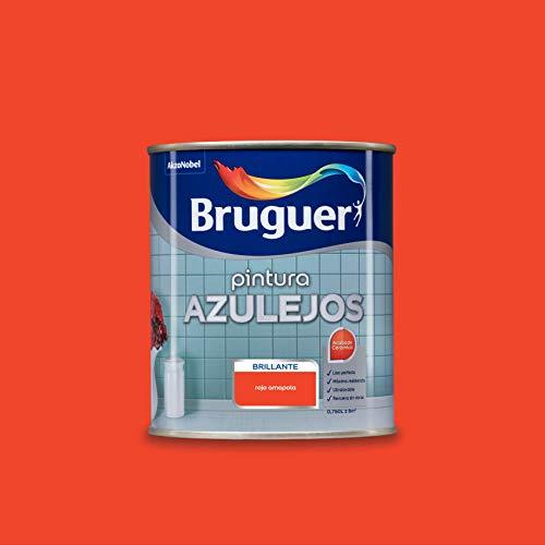 Bruguer Esmalte para Azulejos Brillante Rojo Amapola 750 ml
