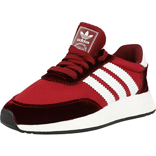 adidas I-5923 W, Zapatillas de Gimnasia para Mujer, Multicolor (Collegiate Burgundy/FTWR White/Core Black Collegiate Burgundy/FTWR White/Core Black), 38 EU