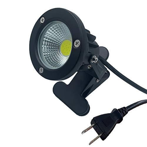 防水 led クリップライト 7W (60W相当) 昼白色 6000K コード長3m ledクリップライト ledライト 店舗 屋外 照明 看板 間接照明 電気スタンド デスクスタンド(昼白色7W)