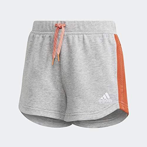 adidas Jg A Bold Short Pantalón Corto, Niñas, Brgrin/Blanco, 152 (11/12 Años)
