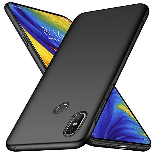 Funda Xiaomi Mi Mix 3 TopACE Ultra Slim Anti-Rasguño y Resistente Huellas Dactilares Totalmente Protectora Caso de Plástico Duro Cover Case para Xiaomi Mi Mix 3 (Negro)