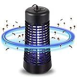 ZHAN Piège À Moustiques, Lampe Tueur De Moustique Piège À Moustiques avec UV Lumière Intérieure Tueur De Moustique Électrique Insectifuge