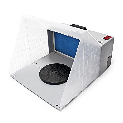 Airbrush Zubehör Absauganlage HS-E420DC 4m³ / min Farbe Filter Farbnebel