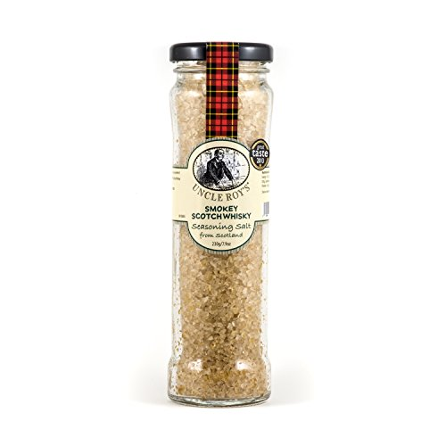 Smokey Scotch Whisky Salt - 220g