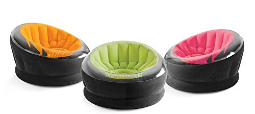 Intex aufblasbarer Empire Lounge-Sessel 112x109x69cm Camping orange