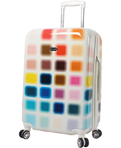 Steve Madden Hard Case 24' Spinner Luggage (24in, Cubic)