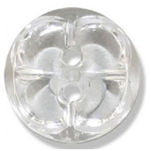 Impex boutons cristal en acrylique Transparent 21 mm-Lot de 50 boutons