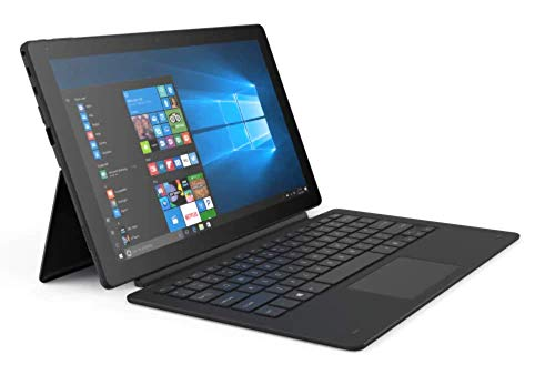 Linx 12X64 - 12.5-inch Tablet with Detachable Keyboard Intel Atom x5-Z8350 / 1.44 GHz (1.92 GHz Turbo) Quad Core Processor, 4GB RAM, 64GB Storage, Windows 10 - LINX12X64